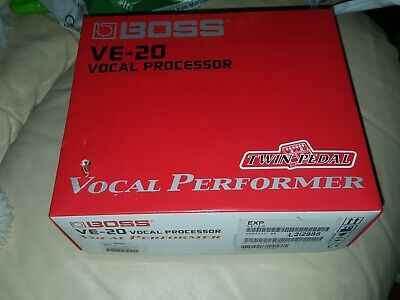 Boss Ve-20 Vocal Performer Vocoder Effects Pedal Processor & Power Supply • 230£