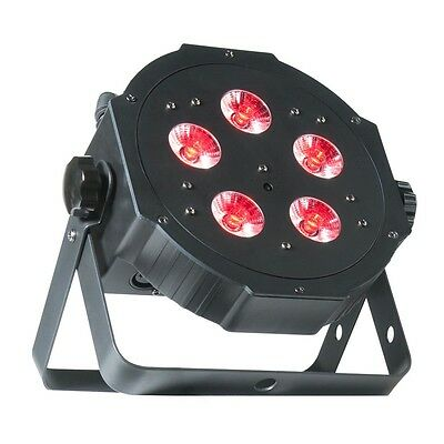2 X ADJ Mega Tri Par Profile Plus Flat Headlight 5 X 4-Watt, 4-in-1 Quad • 139.06£
