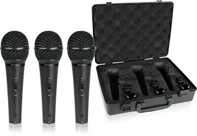 BEHRINGER Dynamic Microphone Vocal Set Of 3 ULTRAVOICE XM1800S • 71.53£