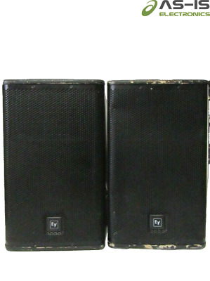 *AS-IS* Lot Of 2 Electro-Voice EV ELX-112P Live X 12  2-Way Loudspeakers System • 177.29£