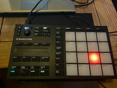 Native Instruments Maschine Mikro Mk3 Spares Or Repair, 3 Pads Not Working • 85£