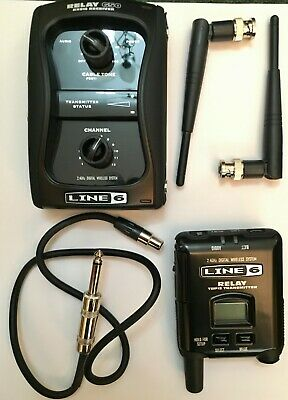 Digital Wireless Guitar System - Line 6 Relay G50 • 70£
