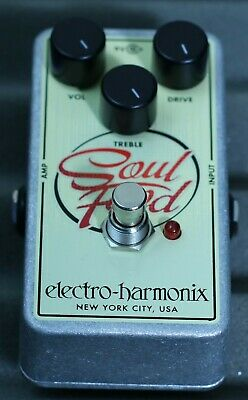 Electro Harmonix Soul Food Overdrive Pedal Free Delivery