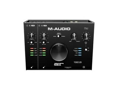 M-Audio AIR 192 | 8 Professional Studio MIDI USB Audio Interface Inc Warranty • 145£