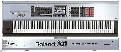 Roland Fantom X8 Weighted 88 Key Keyboard Workstation Synthesiser - £1000.00 • 1,000£