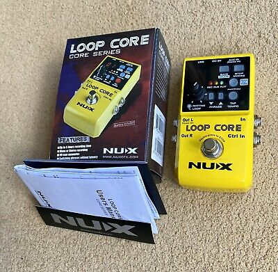NUX Loop Core Looper Guitar Pedal - Excellent Condition • 65£