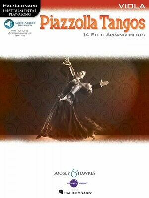 Piazzolla Tangos Viola Chamber Music Book And Audio NEW 048023260 • 9.77£