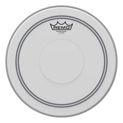 Remo Powerstroke P3 Drum Heads with Top Clear Dot - Coated
