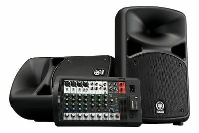 Yamaha STAGEPAS 600BT Portable PA System With Bluetooth Stagepas600BT • 572.21£