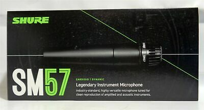 Shure SM57-LC Cardioid Instrument Microphone | Wired | Dynamic | NIB • 78.69£