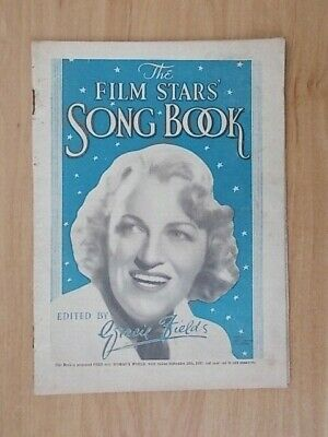 Vintage Sheet Music Booklet - Film Stars Song Book - Gracie Fields - 2543