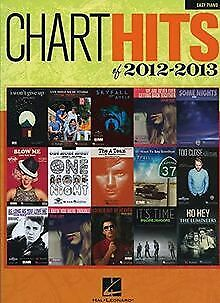 Chart Hits Of 2012-2013 Easy Piano By Hal Leonar... | Book | Condition Very Good • 3.88£