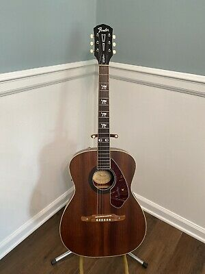 Fender Tim Armstrong Hellcat Electric Acoustic Guitar Used Fishman • 211.97£