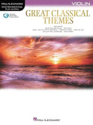 Great Classical Themes-Violin • 7.23£
