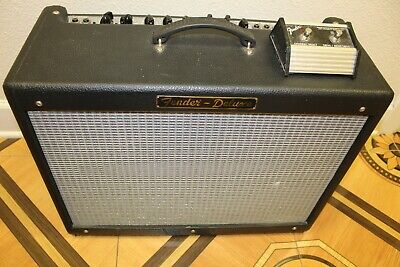 Used 2005 Fender Hot Rod Deluxe Electric Guitar Amplifier with Footswitch