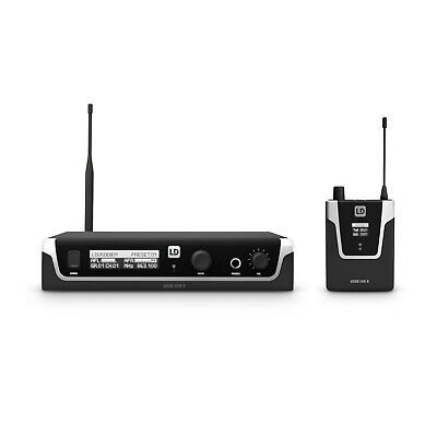 LD Systems U508 IEM IN Ear Monitoring System - 863 - 865 MHZ +823 - 832 MHZ