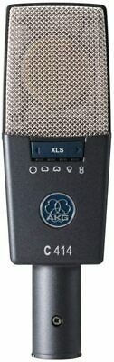AKG C414 XLS Side Address Type Condenser Microphone Dynamic Cable New Japan F/S