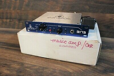 Black Lion Audio B173 Preamp, W/Box and power supply, clean!