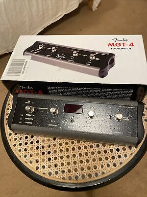 Fender MGT-4 Footswitch for Mustang GT Amps (PRE-OWNED)