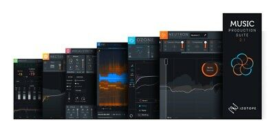 iZotope Music Production Suite 2.1 | Ozone Neutron Nectar RX7 VocalSynth Insight