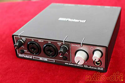 Roland rubix22 Audio interface, Good Working Condition, Product of Japan Black..