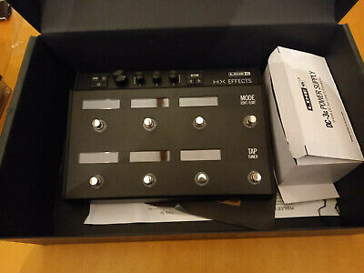 Line 6 Helix HX Stomp Multi-Effects Pedal - Very Little Use and Kept in Box