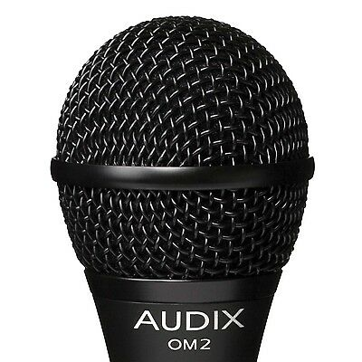 Audix OM2 OM-2 All Performace Dynamic Vocal Microphone Mic FREE US Shipping OM 2 • 76.90£