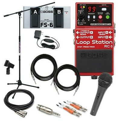 Boss RC-3 Loop Station Pedal COMPLETE PEDAL PAK • 275.44£