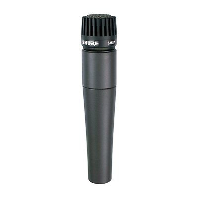Shure SM57-LC Legendary Unidirectional Dynamic Pro Instrument Microphone • 78.59£