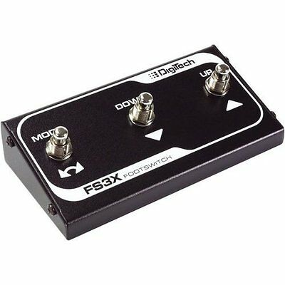 Digitech FS3X 3 Button Funchtion Foot Switch For JamMan Solo Trio Whammy Dt • 38.90£