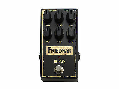 Friedman BE-OD Brown Eye Overdrive True Bypass Guitar Effects Stompbox Pedal • 161.82£