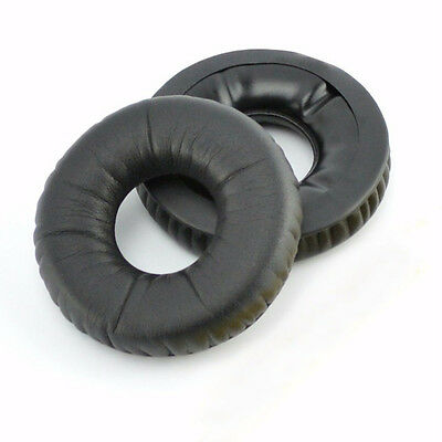 Replacement Leatherette Ear Pads Leather Cushions Fits Sennheiser HD25 HD25-1 • 7.99£