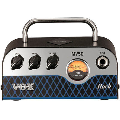 Vox MV50 Rock 50-Watt Guitar Amplifier Head • 177.94£