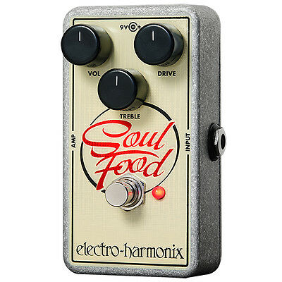 Electro-Harmonix Soul Food Overdrive Guitar Effect Pedal • 66.57£