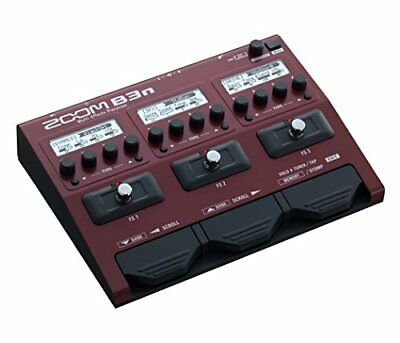 Zoom B3n Multi-Effects Processor For Bassists NEW + FREE 2DAY • 160.91£