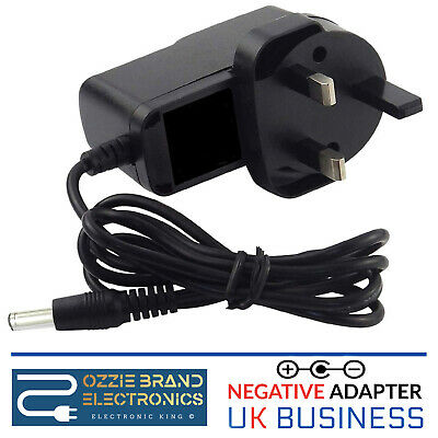 Uk 9v Ac/dc Power Supply Adapter Compatible For Zoom G1xon Guitar Effects Pedals • 8.95£