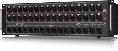 Behringer S32 I/O Box With Remote Controllable Midas Pre-Amps - Ships FREE U.S. • 943.09£