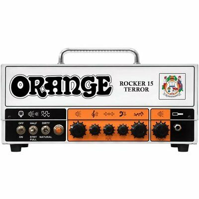 Orange Rocker 15 Terror Tube Guitar Amplifier Head 15W 2-Ch 3-Band EQ FREE 2DAY • 598.06£