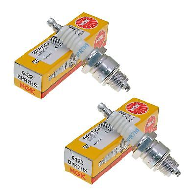 NGK BPR7HS Spark Plugs Pack Of 2 Fits TGB 309 50 RS 2002- 2003 • 7.95£