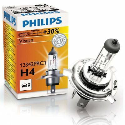 Philips Vision H4 Car Headlight Bulb 12342PRC1 (Single) • 8.83£