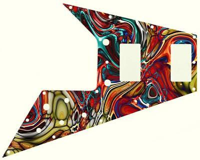 Gibson Flying V Pickguard for '67 Re-Issue Guitar Custom Graphical Abstract 15