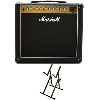 Marshall DSL20CR 1x12  Tube Guitar Combo Amplifier W/ Ultimate Support Amp Stand • 434.37£