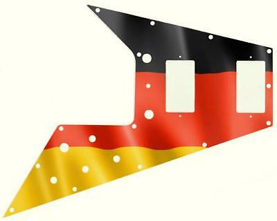 Gibson Flying V Pickguard for '67 Re-Issue Guitar Custom Graphical Flag Germany