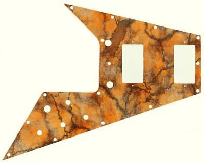 Gibson Flying V Pickguard for '67 Re-Issue Custom Guitar Graphical Texture 4