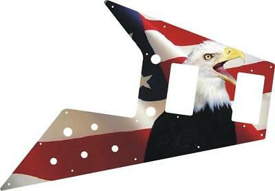 Gibson Flying V Pickguard '67 Re-Issue Guitar Custom Graphical US Patriot Eagle