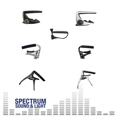 Guitar Capos - Acoustic & Electric - Shubb G7th TGI (GROUP) Trigger Capo • 18.75£