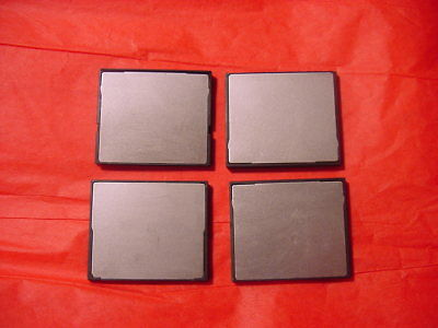 4 X 1gb Roland Synth Fantom X6-7-8-guno G-v Xt & Others Cf Memory Card • 25.52£