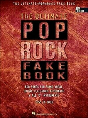 Ultimate Pop Rock Fake Book C Instruments 4th Edition • 22.64£