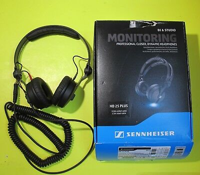 Sennheiser HD 25 Plus Professional DJ Headphone With Coiled & Straight Cable • 121.96£