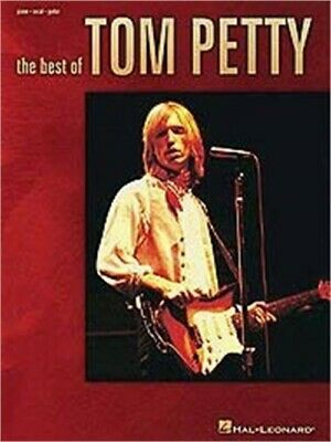 Hal Leonard The Best Of Tom Petty Piano, Vocal, Guitar Songbook • 14.67£